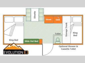 Somerset Evolution E3 Tray Floorplan Image