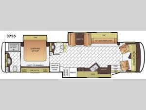 Canyon Star 3755 Floorplan Image