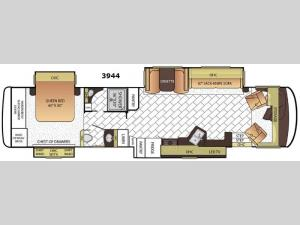 Canyon Star 3944 Floorplan Image