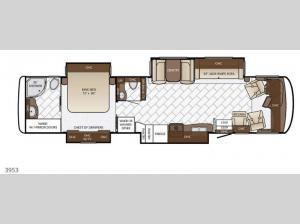 Canyon Star 3953 Floorplan Image