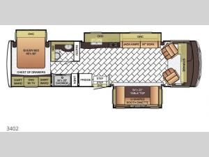 Bay Star 3402 Floorplan Image