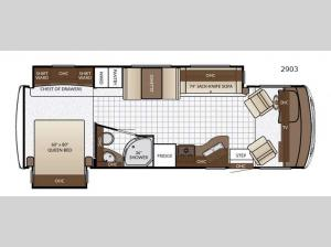 Bay Star Sport 2903 Floorplan Image