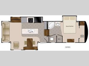 Travel Suites Limited Exploring Edition TS 32RS3 Floorplan Image