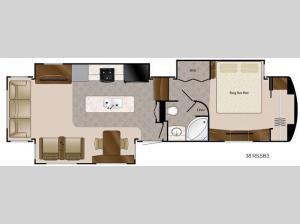 Travel Suites Limited Exploring Edition TS 38RSSB3 Floorplan Image