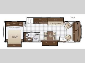 Bay Star Sport 3013 Floorplan Image