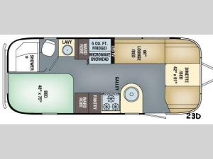 Flying Cloud 23D Floorplan Image