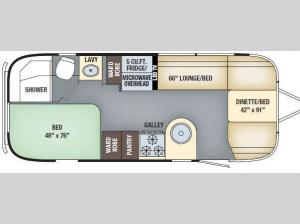 International Serenity 23D Floorplan Image