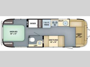 International Serenity 28 Floorplan Image
