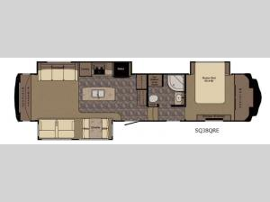 Sequoia SQ38QRE Floorplan Image