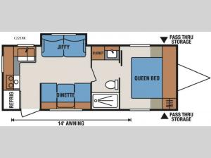 Spree Connect C221RK Floorplan Image