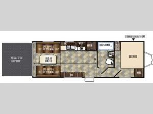 Vengeance Touring Edition 23FB13 Floorplan Image