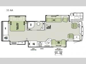 Allegro RED 33 AA Floorplan Image