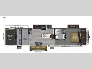 Carbon 364 Floorplan Image