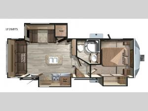 Open Range Light LF268TS Floorplan Image