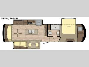 Redwood 3401RL Floorplan Image