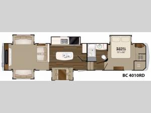 Big Country 4010 RD Floorplan Image