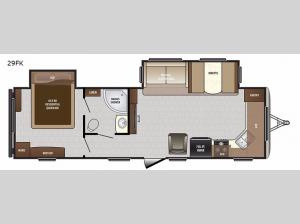 Sprinter Campfire Edition 29FK Floorplan Image
