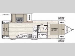 Freedom Express Liberty Edition 279RLDS Floorplan Image