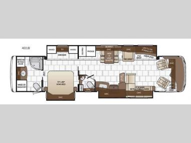 Floorplan - 2017 Newmar Dutch Star 4018