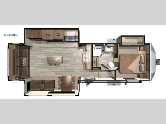 Open Range Light LF319RLS Floorplan Image
