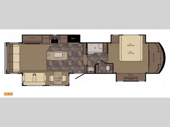 Carriage CG38SB Floorplan Image