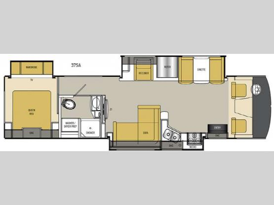 Mirada Select 37SA Floorplan Image