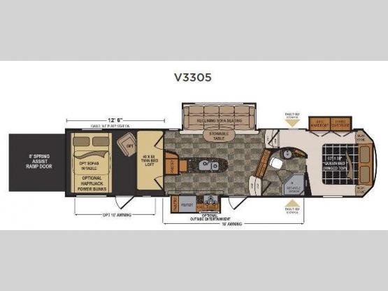 Voltage V-Series V3305 Floorplan Image