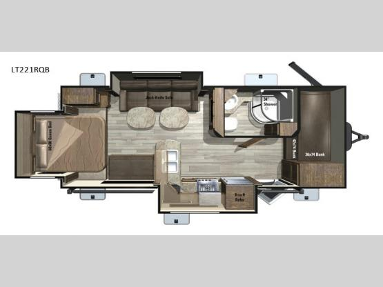 Open Range Light LT221RQB Floorplan Image