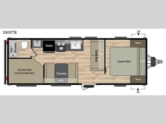 Summerland 2600TB Floorplan Image