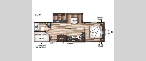 Wildwood 27DBK Floorplan