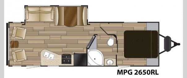 MPG 2650RL Floorplan