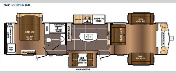 Sanibel 3901 Floorplan