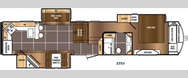 Sanibel 3751 Floorplan