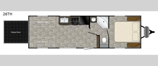 Trail Runner 26TH Floorplan