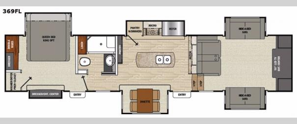 Brookstone 369FL Floorplan