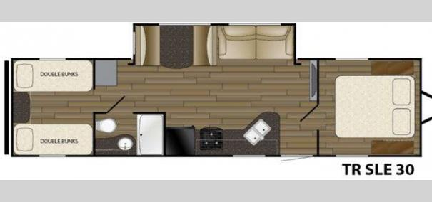 Trail Runner SLE 30 Floorplan