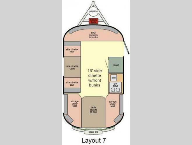 Used 2013 Scamp 16 Foot Layout 7 Travel Trailer At Campers