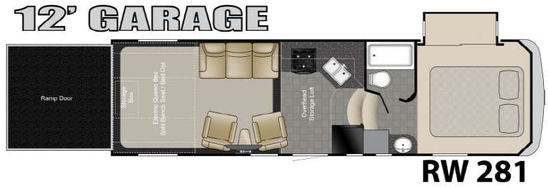 king bed with 5th toy hauler floor plans trend home