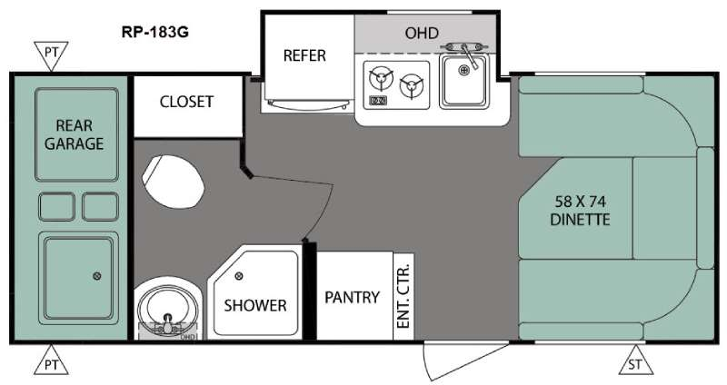 R Pod Travel Trailer RV Sales 9 Floorplans