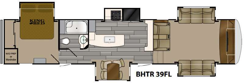 Bighorn Traveler 39fl Fifth Wheel