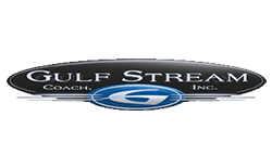 gulf stream rv, picture of the gulf stream rv logo with a white background