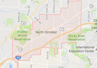 rvs for sale near north olmstead ohio, picture of north olmstead ohio on a map