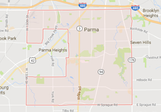 rvs for sale near parma ohio, picture of parma ohio on a map