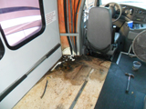 Water Leak in Class B Motor Home