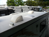 RV roof leak water damage