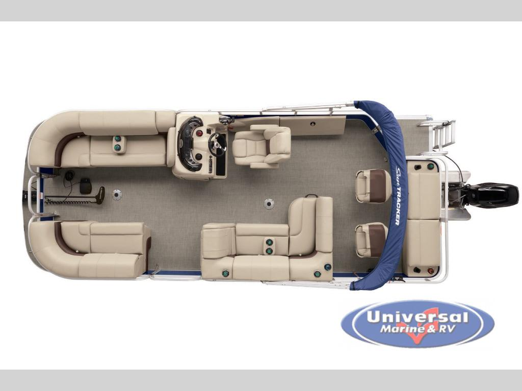 New 2019 Sun Tracker Sportfish 22 DLX Pontoon at Universal Marine
