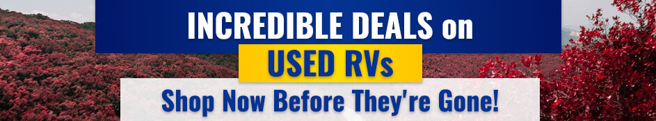 Huge Sale on Used RVs