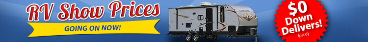 RV Show Prices Going On Now