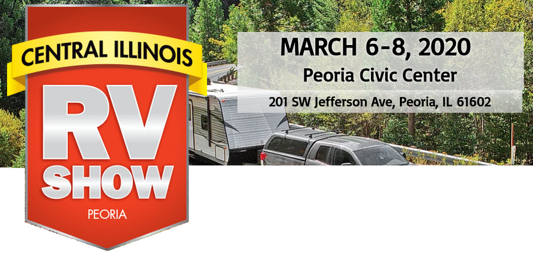 Peoria IL RV Show March 5-8 2020