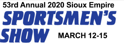 Sioux Falls Sportsmen's Show March 12-15 2020
